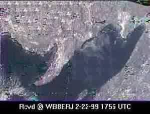 SSTV from the MIR Space Station #7