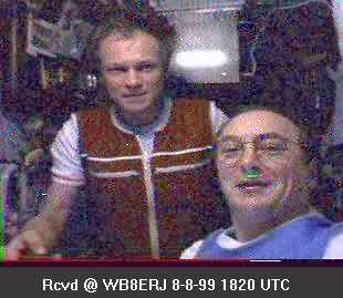 SSTV from the MIR Space Station #14